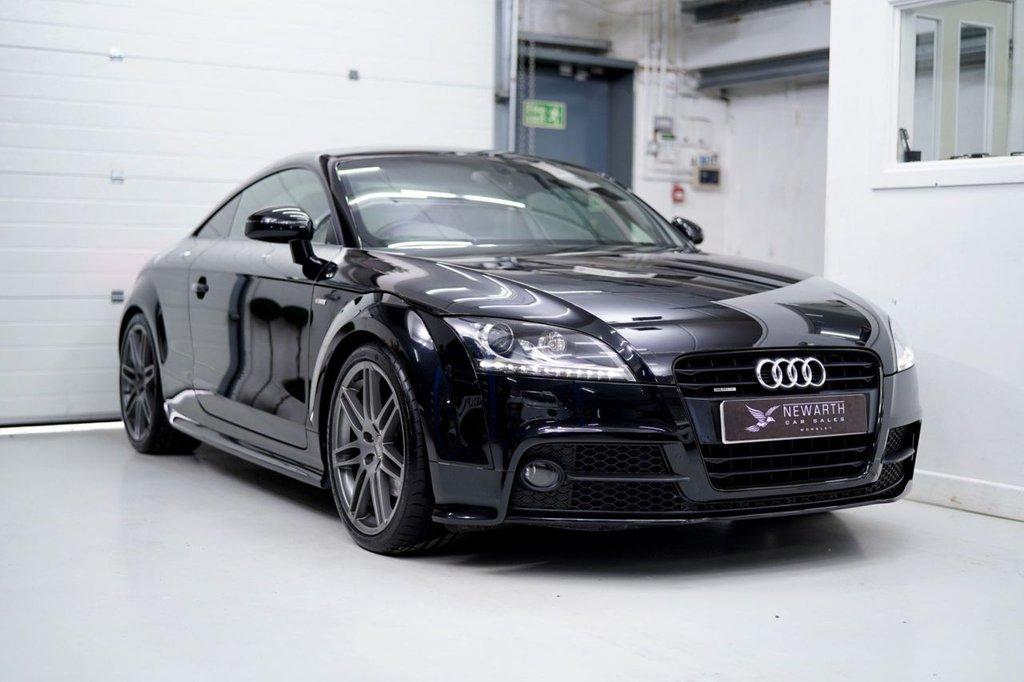 USED 2012 12 AUDI TT 2.0 TD Black Edition 2dr ONLY 15k Miles   Pristine