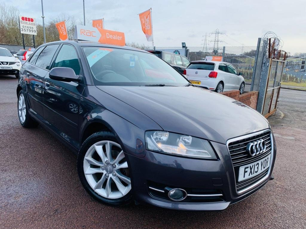 USED 2013 AUDI A3 1.6 TDI Sport Sportback 5dr 1 years Nationwide warranty