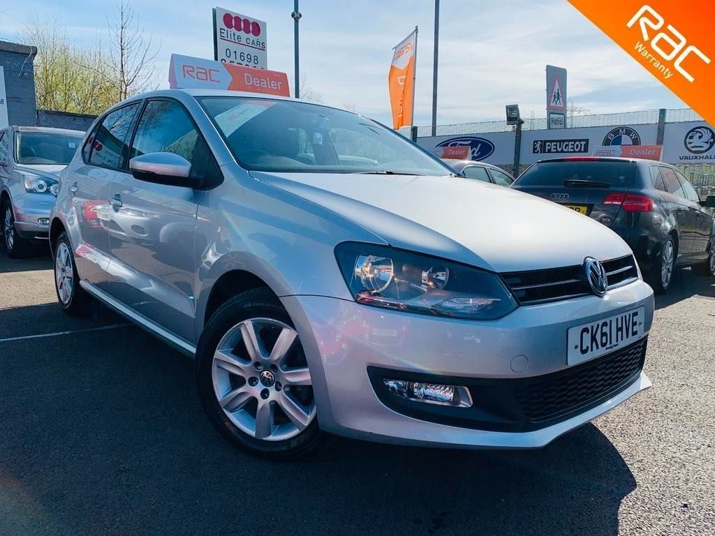 USED 2011 61 VOLKSWAGEN POLO 1.2 Match 5dr 12 Months National Warranty