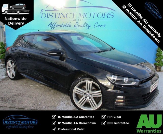 USED 2015 65 VOLKSWAGEN SCIROCCO 2.0 R LINE TDI BLUEMOTION TECHNOLOGY DSG 2d 182 BHP