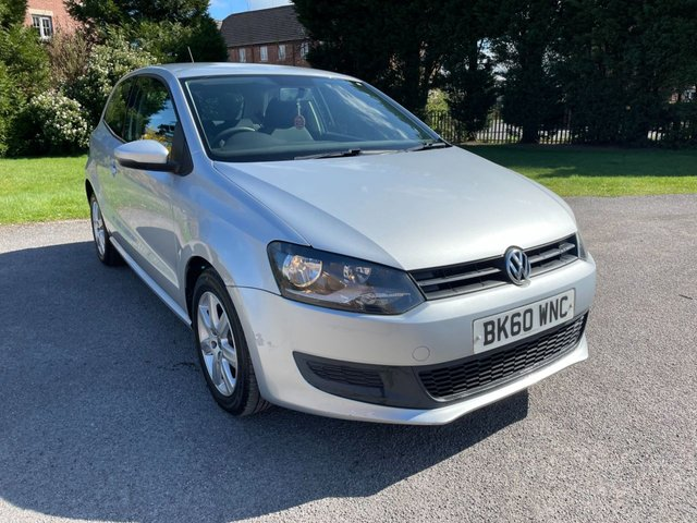 USED 2010 60 VOLKSWAGEN POLO 1.2 SE 3d 60 BHP