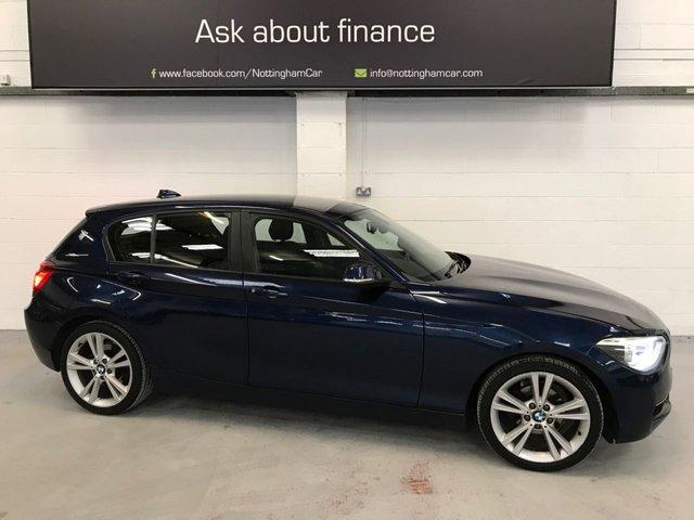 USED 2012 61 BMW 1 SERIES 2.0 118D SPORT 5d 141 BHP
