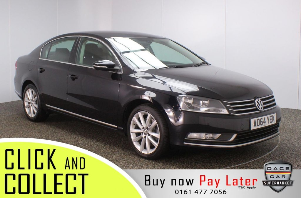 USED 2014 64 VOLKSWAGEN PASSAT 2.0 EXECUTIVE TDI BLUEMOTION TECHNOLOGY DSG 4DR 139 BHP FULL SERVICE HISTORY + HEATED LEATHER SEATS + SATELLITE NAVIGATION + PARK ASSIST + PARKING SENSOR + BLUETOOTH + CRUISE CONTROL + CLIMATE CONTROL + MULTI FUNCTION WHEEL + DAB RADIO + AUX/USB PORTS + ELECTRIC WINDOWS + ELECTRIC/HEATED DOOR MIRRORS + 17 INCH ALLOY WHEELS