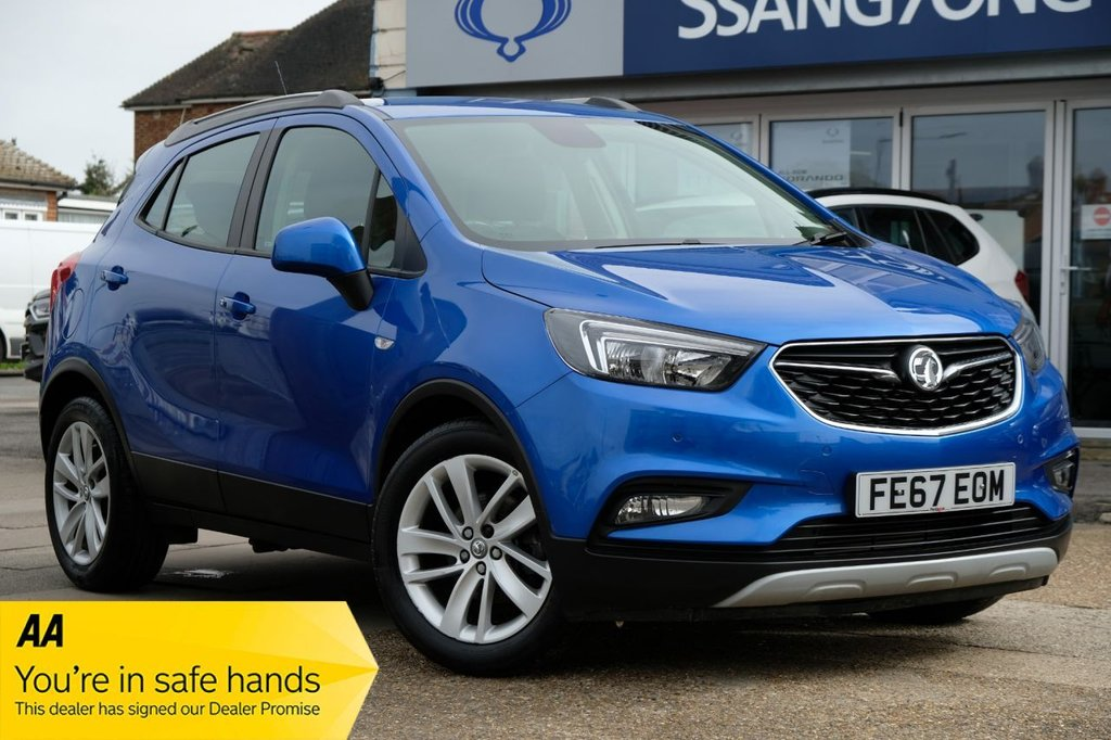 USED 2017 67 VAUXHALL MOKKA X 1.4 ACTIVE S/S 5d 138 BHP VERY LOW MILEAGE AVAILABLE FOR £189 PER MONTH £0 DEPOSIT