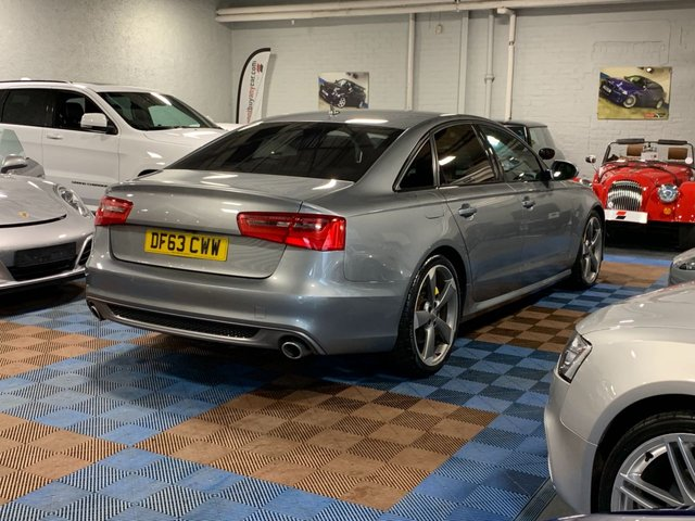 USED 2013 63 AUDI A6 3.0 TDI QUATTRO BLACK EDITION 4d 313 BHP Three Owners | Four Service Stamps