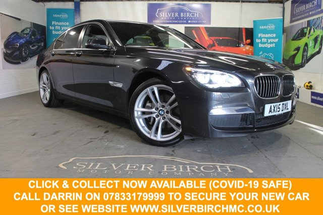 USED 2015 15 BMW 730d M Sport Exclusive Saloon 4dr Diesel Automatic (s/s) (148 g/km, 258 bhp) Sun Roof, £3665 of extra Spec