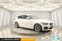 USED 2016 16 BMW 1 SERIES 2.0 118D M SPORT 3d 147 BHP SAT/NAV, BLUETOOTH, CRUISE CONTROL, PRIVACY GLASS, REAR PARK, 5 SERVICES....