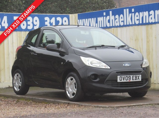 USED 2009 09 FORD KA 1.2 STYLE 3d 69 BHP IDEAL FIRST CAR