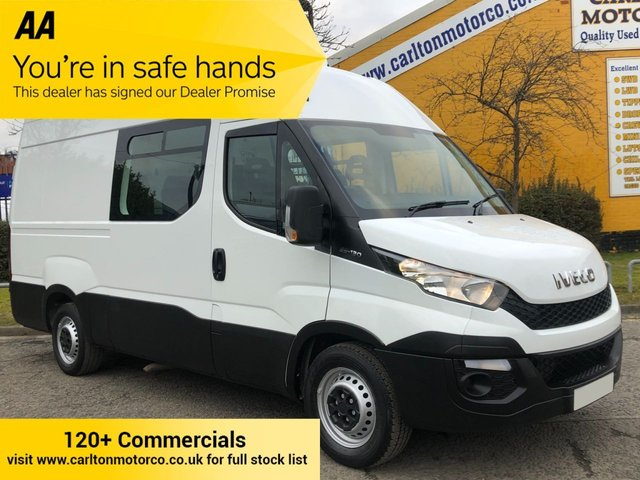 2015 65 IVECO DAILY 35S13V [ MESS / WELFARE+ TOILET ] Mwb High Roof Van