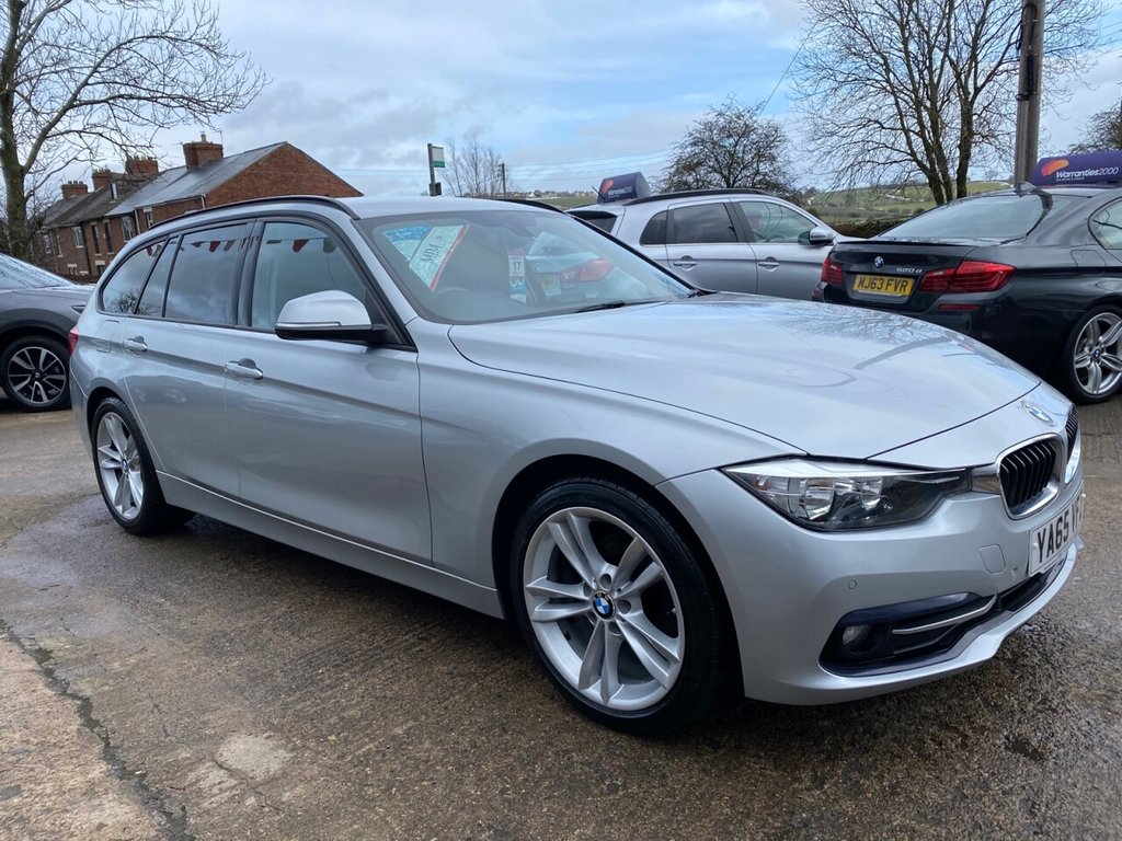 USED 2016 65 BMW 3 SERIES 2.0 318D SPORT TOURING 5d 148 BHP * 1 OWNER * SAT NAV * REAR CAM * HEATED LEATHER * STUNNING *