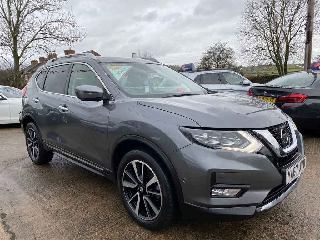 USED 2017 67 NISSAN X-TRAIL 2.0 TEKNA DCI XTRONIC 4WD 5d 175 BHP * 1 OWNER * HUGE SPEC LIST * STUNNING THROUGHOUT *