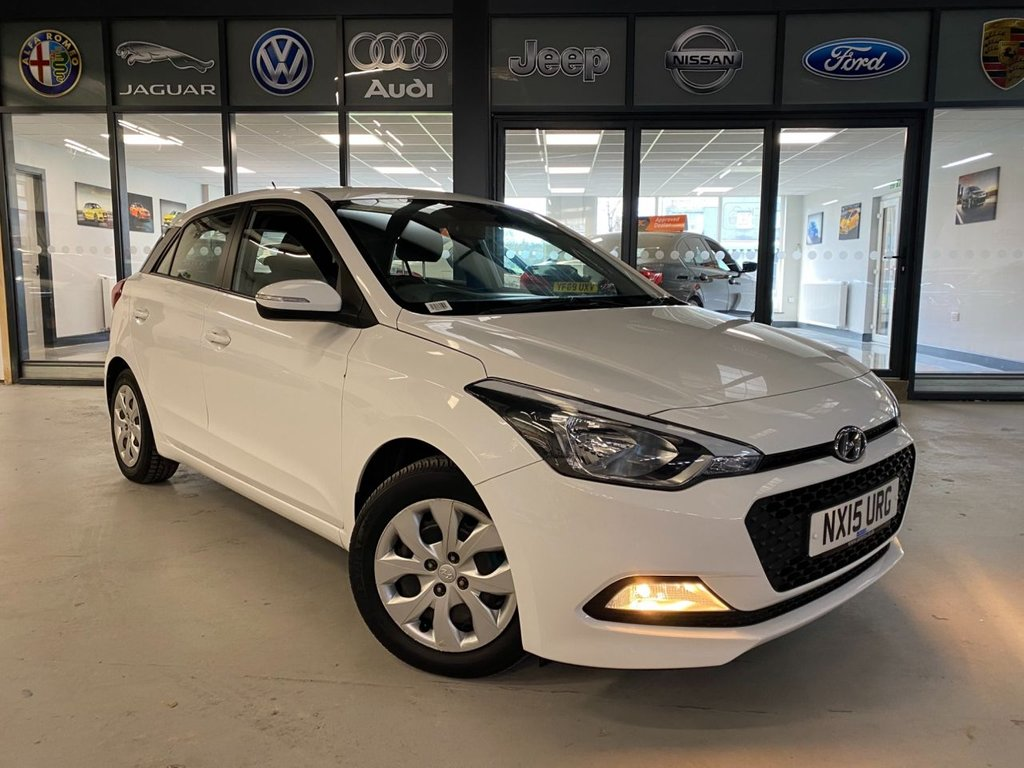 USED 2015 15 HYUNDAI I20 1.2 GDI S 5d 74 BHP Complementary 12 Months RAC Warranty and 12 Months RAC Breakdown Cover Also Receive a Full MOT With All Advisory Work Completed, Fresh Engine Service and RAC Multipoint Check Before Collection/Delivery