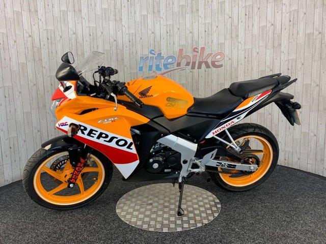 HONDA CBR125 at Rite Bike