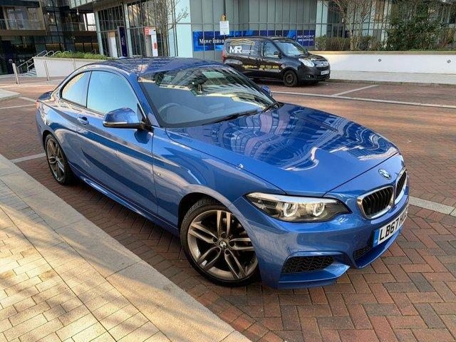 2017 67 BMW 2 SERIES 1.5 218I M SPORT 2d 134 BHP