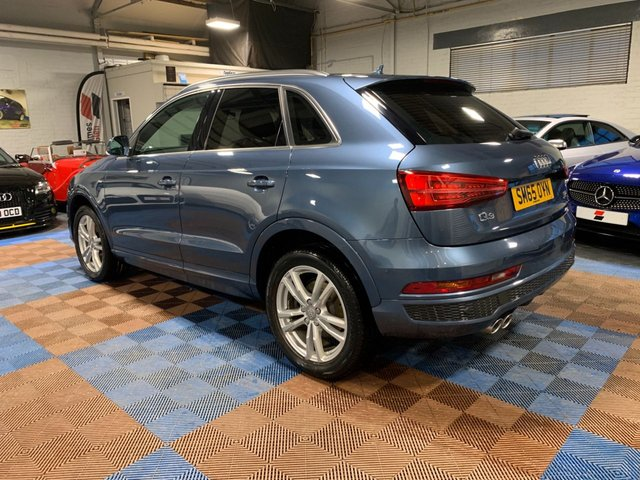 USED 2015 65 AUDI Q3 2.0 TDI QUATTRO S LINE 5d 148 BHP Two Owners | Three Service Stamps