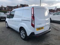 USED 2018 18 FORD TRANSIT CONNECT 1.5 200 L1 Low Roof LIMITED Panel Van with Great High Spec and Low Mileage Ready to Finance and Drive Away Excellent Service History