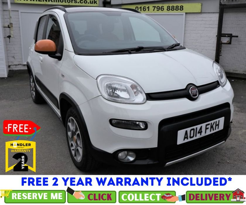 USED 2014 14 FIAT PANDA 0.9 TWINAIR 5d 85 BHP *CLICK & COLLECT OR DELIVERY