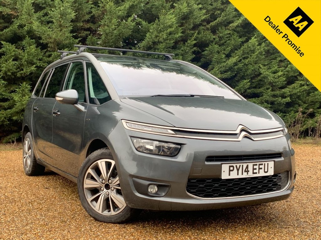 USED 2014 14 CITROEN C4 GRAND PICASSO 1.6 E-HDI AIRDREAM EXCLUSIVE 5d 113 BHP