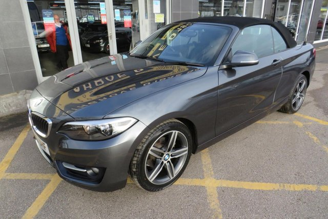 USED 2016 16 BMW 2 SERIES 2.0 218D SPORT 2d 148 BHP