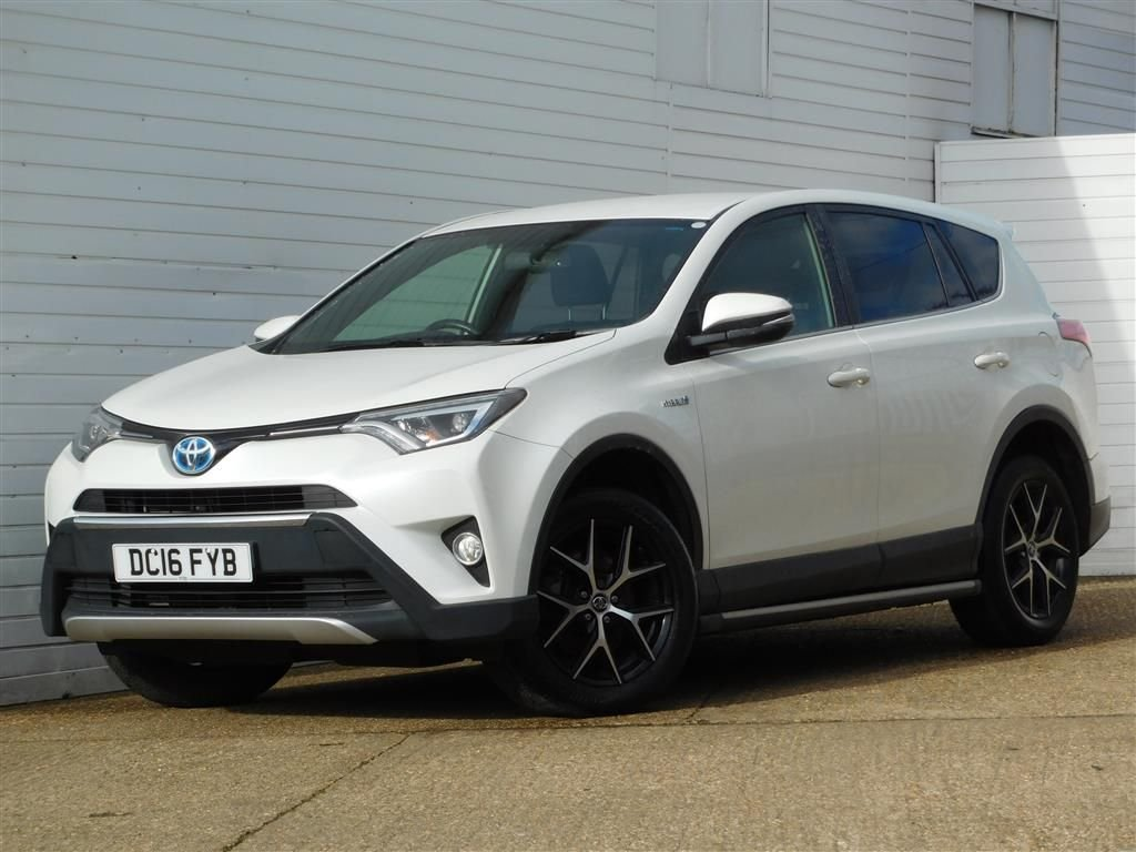 USED 2016 16 TOYOTA RAV4 2.5 VVT-I ICON AWD 5d 197 BHP Buy Online Moneyback Guarantee