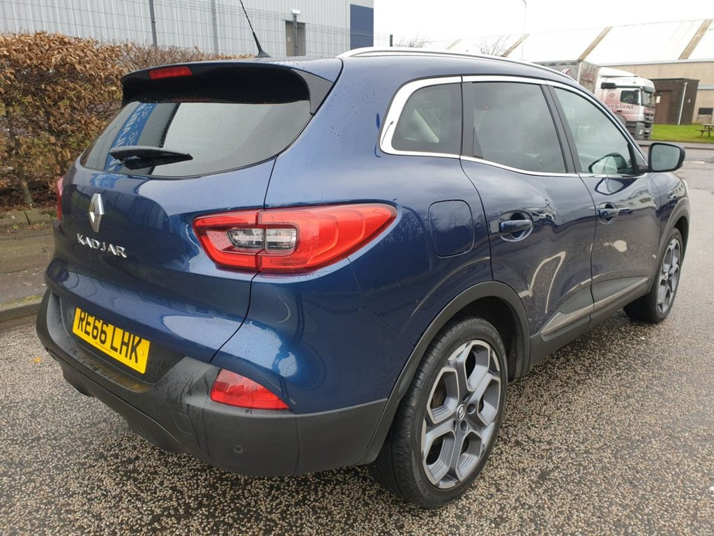 USED 2016 66 RENAULT KADJAR 1.5 DYNAMIQUE S NAV DCI 5d 110 BHP ONLY 1 PRE OWNER 82K VERY LOW WARRANTED MILES FROM NEW LONG MOT