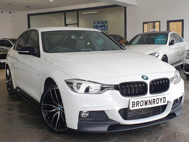 USED 2018 18 BMW 3 SERIES 2.0 320D XDRIVE M SPORT 4d 188 BHP BM PERFORMANCE STYLING+X-DRIVE