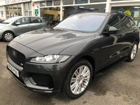 USED 2016 66 JAGUAR F-PACE 3.0 V6 S Portfolio 4x4 AWD 5d Family SUV AUTO with 296 BHP Performance and the Highest Spec F-Pace in the UK with Electric Panoramic Opening Sunroof Heads Up Display Heated & Cooled 18 Way Electric Memory Seats Adaptive Radar Cruise Control Lane Assist Auto Braking Electric Recline Rear Heated Leather Seats Electric Deployable Towbar with Camera Assist 360 Surround Camera System with Junction View Side Steps Digital Dashboard Display Full Screen Colour Sat Nav Bluetooth Mobile Phone plus much more so please read our advert in full Full Service History + 1 Former Keeper