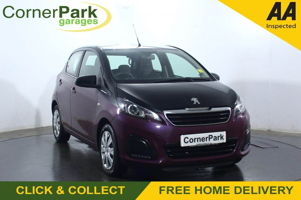 USED 2018 67 PEUGEOT 108 1.0 ACTIVE 5d 68 BHP