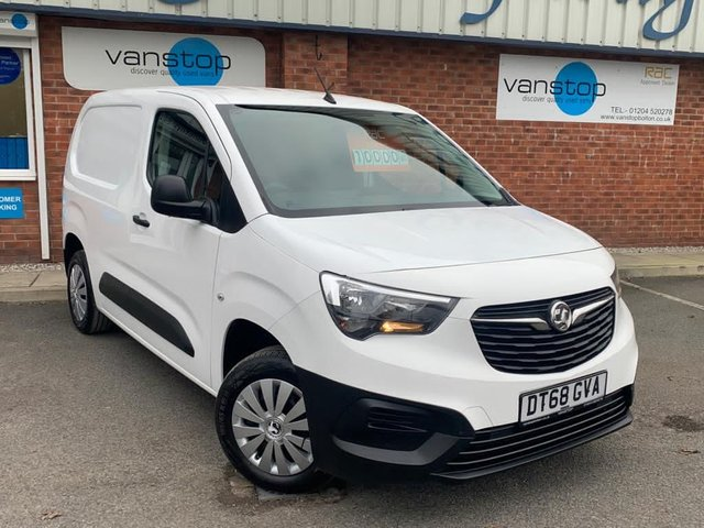 USED 2019 68 VAUXHALL COMBO 1.6 L1H1 2000 EDITION S/S 101 BHP