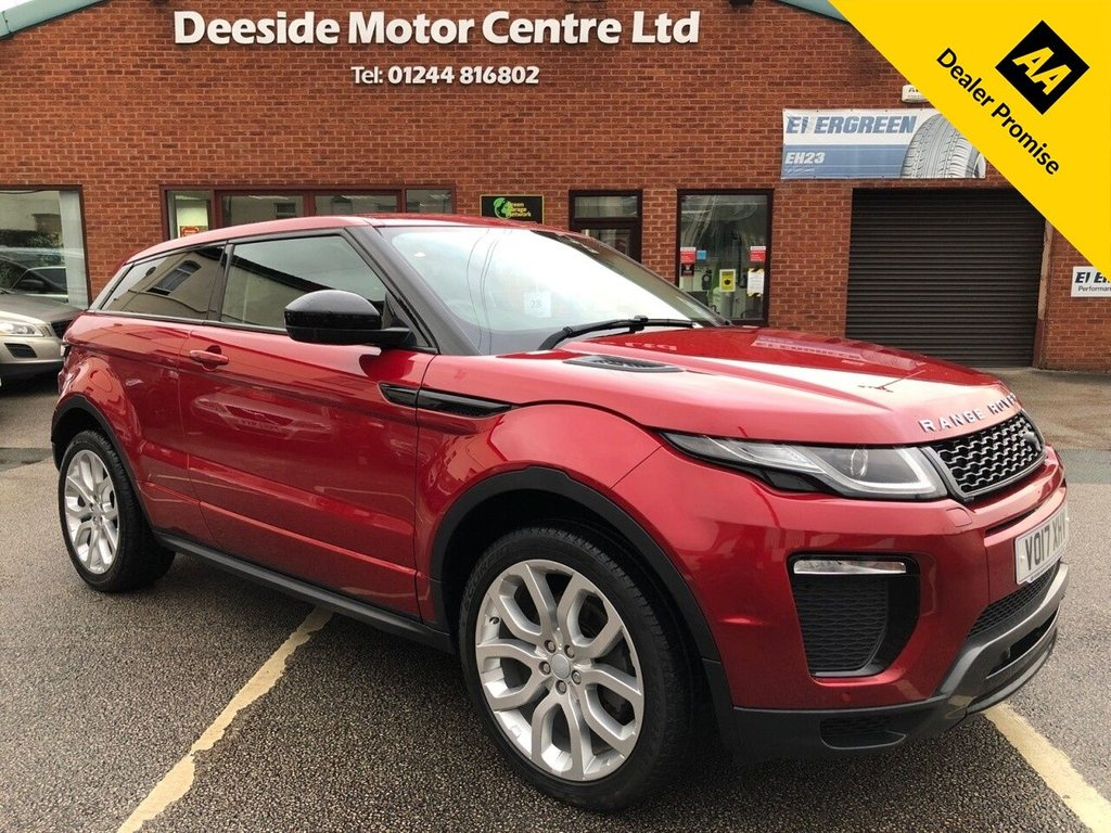 USED 2017 17 LAND ROVER RANGE ROVER EVOQUE 2.0 TD4 HSE DYNAMIC 3d 177 BHP