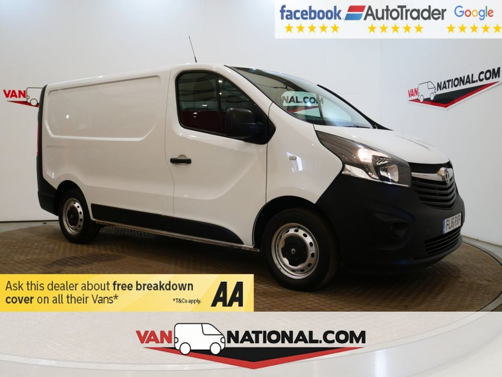 USED 2016 16 VAUXHALL VIVARO 1.6 2700 L1 H1 CDTI P/V ECOFLEX * ONE OWNER * AIR CON * RACKING * ZERO DEPOSIT FINANCE AVAILABLE *