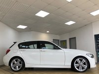 USED 2012 12 BMW 1 SERIES 2.0 118D M SPORT 5d 5 Seat Sports Hatchback Stunning in White with Black Roof Looks Amazing. Recent Service & MOT, New Brake Discs & Battery. Ready to Finance and Drive Away Fantastic Full Service History