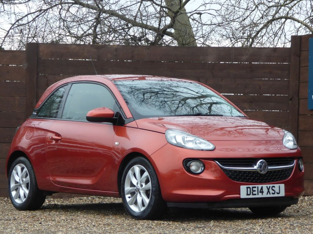 USED 2014 14 VAUXHALL ADAM 1.2 JAM 3d 69 BHP ** JUST HAD AN MOT AND SERVICE ***