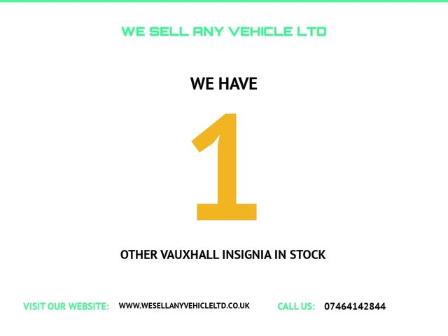 USED 2012 62 VAUXHALL INSIGNIA 2.0 SRI CDTI 5d 157 BHP LOVELY SPEC