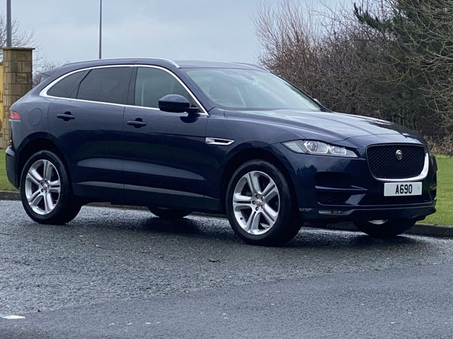 USED 2017 67 JAGUAR F-PACE 3.0 V6 PORTFOLIO AWD 5d 296 BHP In-Control Touch Pro
