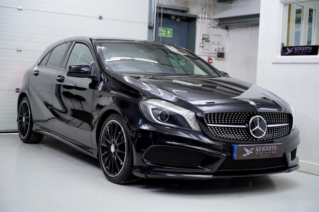 USED 2015 65 MERCEDES-BENZ A-CLASS 2.1 A200 CDI A200 Night Edition 5dr AMG NIGHT EDITION | HIGH  SPEC