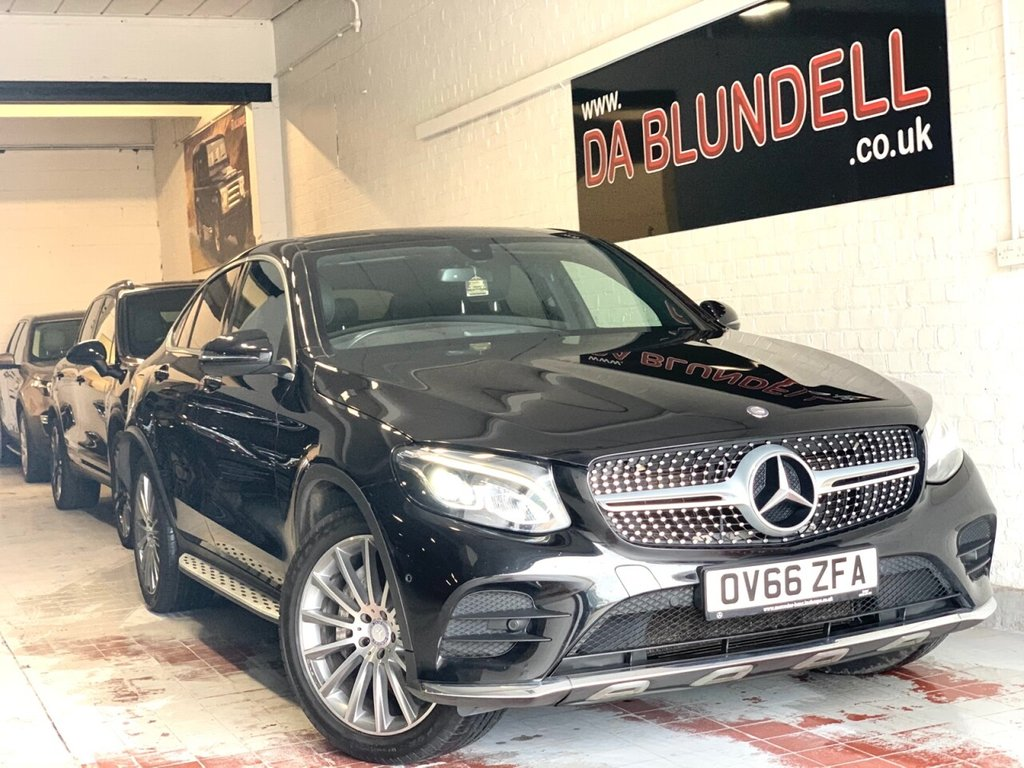 "USED 2016 MERCEDES-BENZ GLC-CLASS 2.1 GLC 250 D 4MATIC AMG LINE PREMIUM 4d 201 BHP GLASS SUNROOF+20""ALLOYS+NAV"