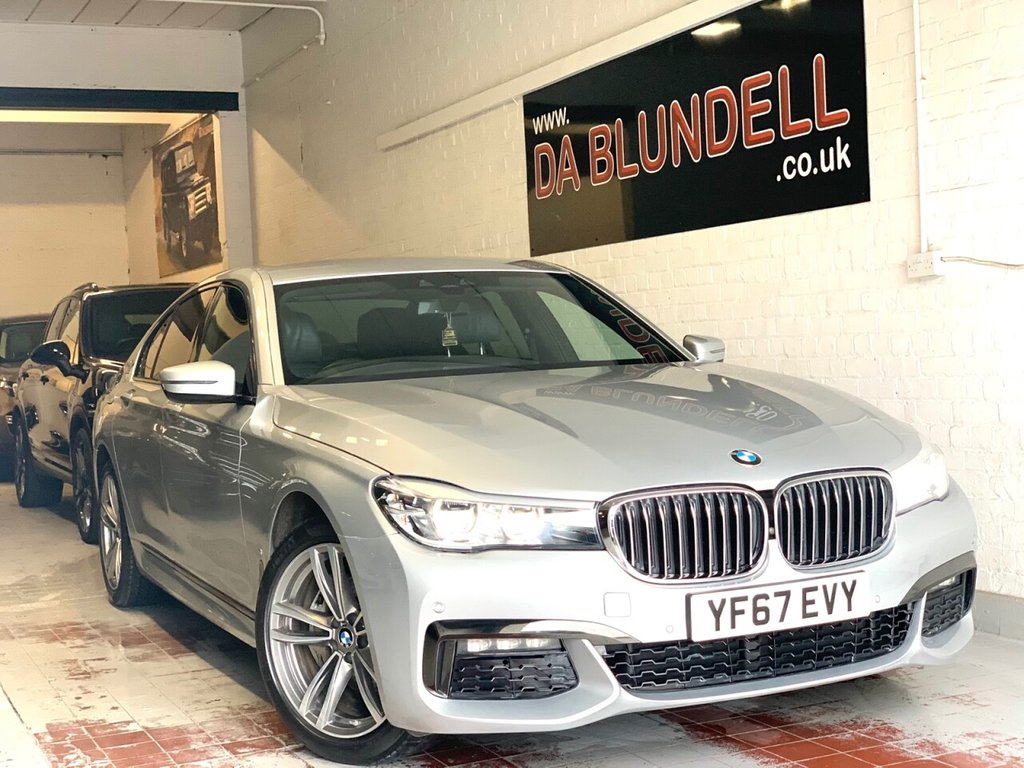USED 2017 67 BMW 7 SERIES 2.0 740E M SPORT 4d 255 BHP