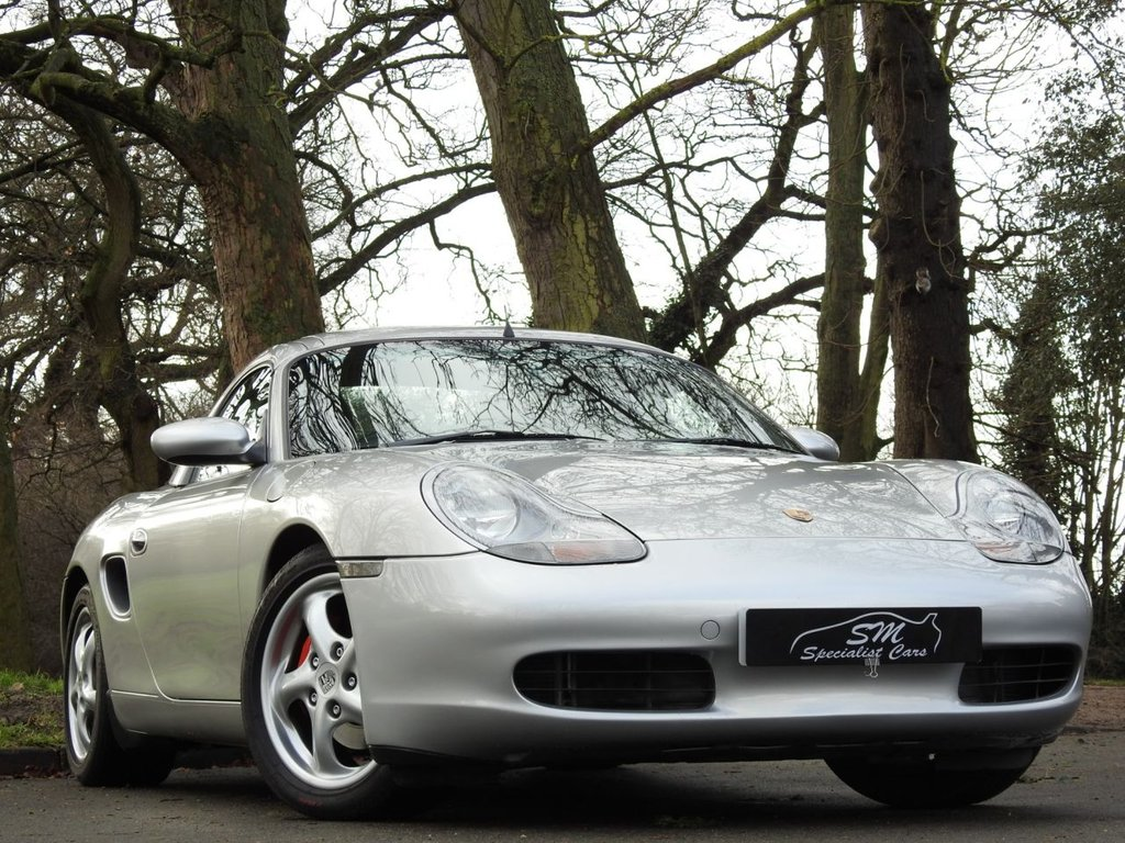 USED 2000 W PORSCHE BOXSTER 2.7 BOXSTER AUTO STUNNING EXAMPLE HARDTOP A/C