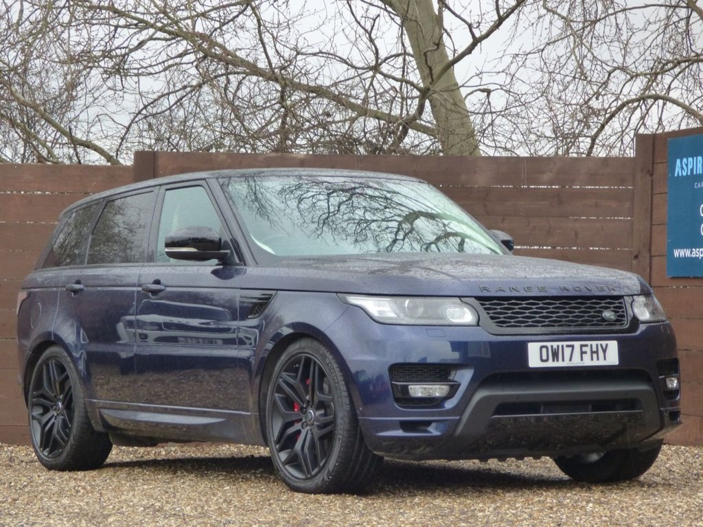 USED 2017 17 LAND ROVER RANGE ROVER SPORT 4.4 SDV8 AUTOBIOGRAPHY DYNAMIC 5d 339 BHP *** LOW RATE FINANCE ***
