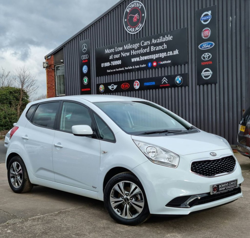 USED 2015 15 KIA VENGA 1.4 SR7 ISG 5D 89 BHP 2 Owners - 6 Service Stamps - Perfect Mid Size Hatch