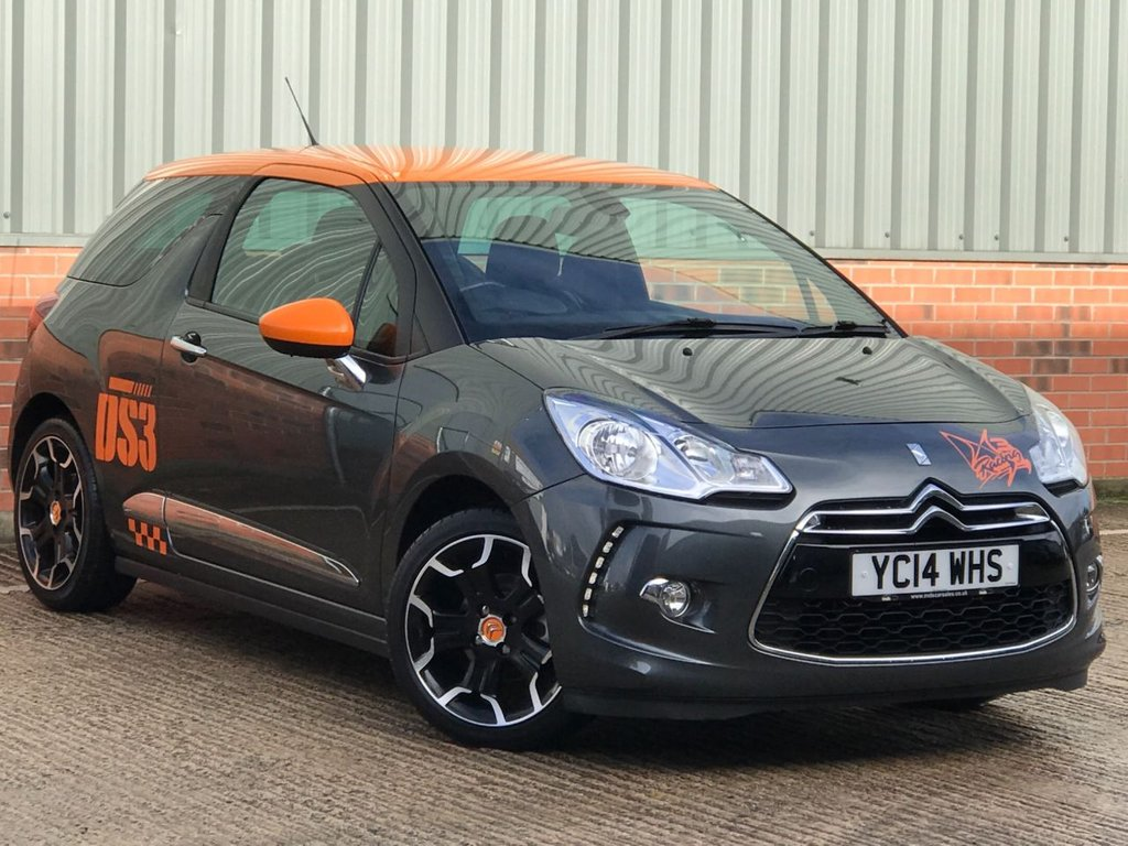 USED 2014 14 CITROEN DS3 1.6 DSTYLE BY BENEFIT 3d 120 BHP EXCELLENT LOW MILEAGE EXAMPLE