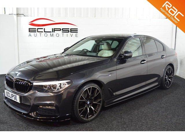 2017 17 BMW 5 SERIES 2.0 520D XDRIVE M SPORT 4d AUTO 188 BHP