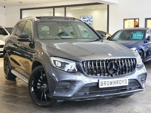 USED 2016 16 MERCEDES-BENZ GLC-CLASS 2.1 GLC 220 D 4MATIC AMG LINE PREMIUM PLUS 5d 168 BHP BRM BODY STYLING+PAN ROOF