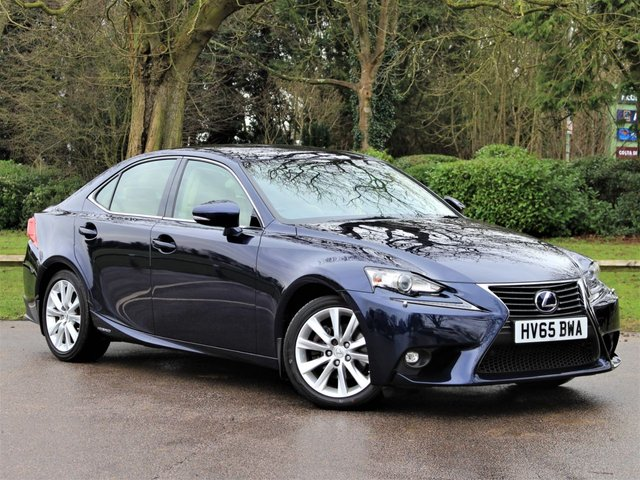 USED 2015 65 LEXUS IS 2.5 300H ADVANCE 4d 179 BHP £248 PCM With £1399 Deposit