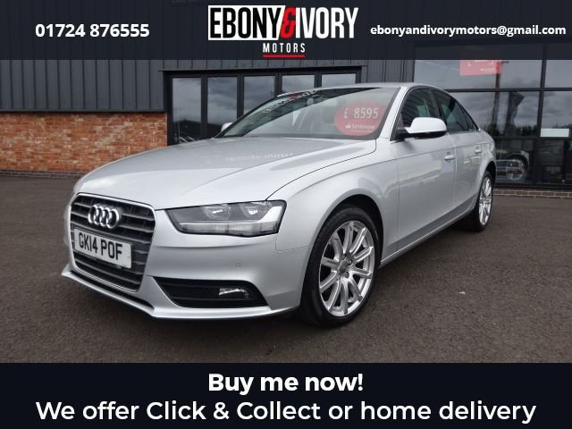 USED 2014 14 AUDI A4 2.0 TDI SE TECHNIK 4d 174 BHP+BLUETOOTH+CRUISE CONTROL+HEATED FRONT SEATS+PARKING SENSORS EXCELLENT EXAMPLE+FULLY SERVICED+1 YEAR MOT+BREAKDOWN COVER