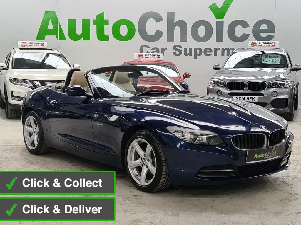 USED 2012 62 BMW Z4 2.0 Z4 SDRIVE28I ROADSTER 2d 242 BHP