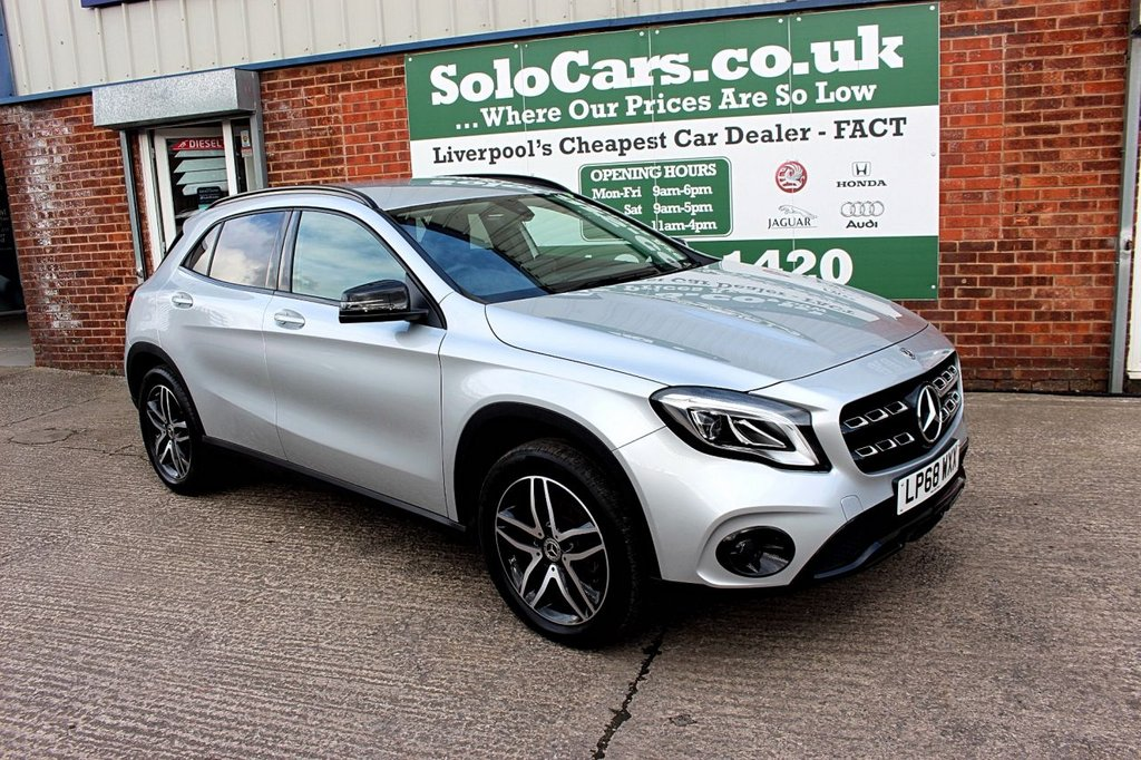 USED 2018 68 MERCEDES-BENZ GLA-CLASS 1.6 GLA 180 URBAN EDITION 5d 121 BHP +ONE OWNER +REVERSE CAM +NAV.