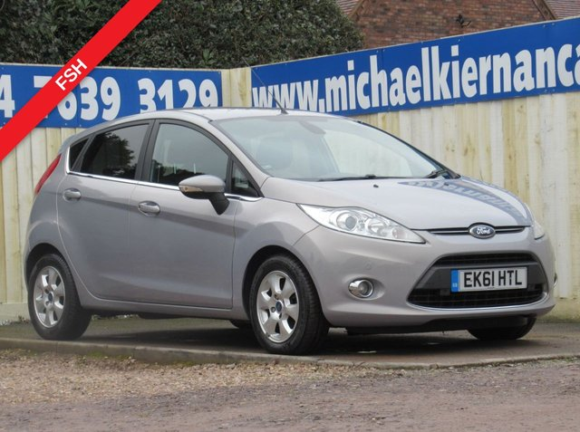 USED 2011 61 FORD FIESTA 1.6 TITANIUM ECONETIC TDCI 5d 94 BHP VERY CLEAN CAR