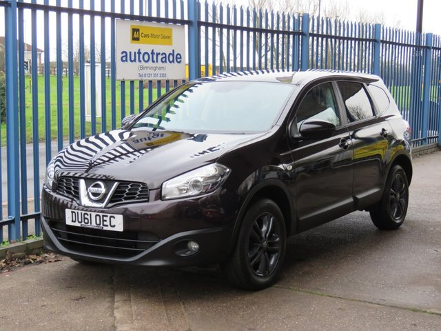 USED 2011 61 NISSAN QASHQAI+2 1.6 ACENTA PLUS 2 5d 117 BHP 7 Seats-Panoramic Roof 7 Seater with Panoramic Sunroof,Rear Privacy Glass and rear Parking sensors